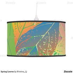 Spring Leaves Pendant Lamps
