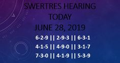 Swertres Hearing JUNE is here now Check and get benefits by these tips. After a short time we should look at the stuff you get today in this post. The Best Pasakay guides, these contain the mixes of potential results. June, Tips, Check, Counseling
