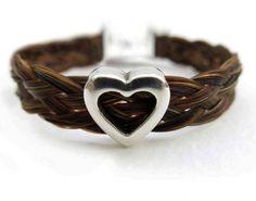 45 Elegant & Breathtaking Horse Hair Bracelets ... horse-hair-bracelet-heart-slider2 └▶ └▶ http://www.pouted.com/?p=33473