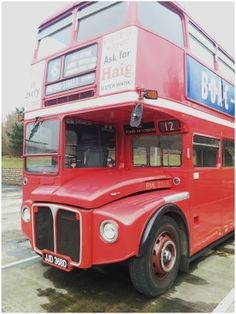 We were working along side this Classic London Bus #Leyland Routemaster which operated the No.12 Oxford Streets in its time back in the early 1960's. www.laymantransport.com