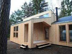 Facit Homes , Facit Homes D-Process, on-site fabrication, prefab housing, prefab plywood, digital fabrication, lego-like building, sustainable buildings, 2013 Index: Awards, green homes, plywood homes