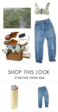 """""""picnic"""" by paper-freckles ❤ liked on Polyvore featuring Vetements, Levi's, Lisa Marie Fernandez, Chrome Hearts, Wildfox and Leica"""