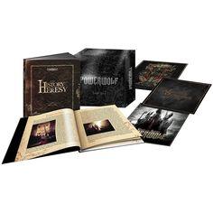 """Il secondo cofanetto """"The History Of Heresy II"""" che ripercorre i 10 anni di carriera dei #Powerwolf contiene gli album """"Bible Of The Beast"""" e """"Blood Of The Saints"""" in edizione premium digisleeve con bonus track incluse."""