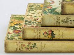 Vintage Garden gardening books.