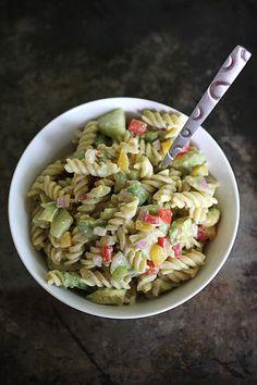CremedelaCrumb: Creamy Chipotle Pasta Salad