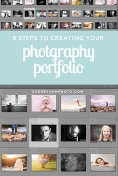 Pulling together a body of work is a great idea for ANY photographer - hobbyists and professionals alike. Here's the 8 steps to putting together a portfolio - click through to read and start one today!