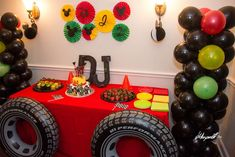 Mickey Mouse Roadster Racer Birthday Party Ideas | Photo 7 of 11