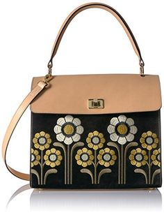 ef4def46fc Orla Kiely Suede Embroidery Large Cicely Black    See this great product.  (This. Orla Kiely HandbagsLeather ...