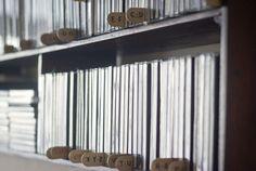 Palitos de helado para clasificar los discos