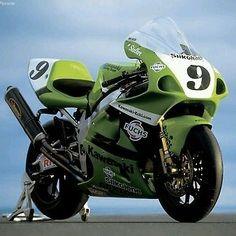 Chris Walker Kawasaki World Suberbike Kawasaki Zx7r, Kawasaki Ninja, Kawasaki Motorcycles, Racing Motorcycles, Velentino Rossi, Course Moto, Motorcycle Companies, Classic Bikes, Classic Cars