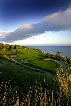 Bay Harbor Golf Club- a beautiful place to play in N. Michigan