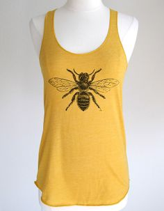 Hey, I found this really awesome Etsy listing at https://www.etsy.com/listing/155663197/bee-01-shirt-soft-eco-heather-racerback
