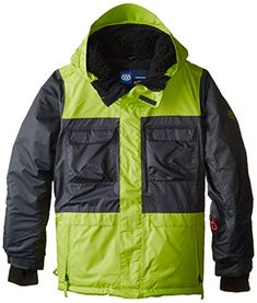 686 Boys Approach Insulated Jacket XLarge Gunmetal >>> Find out more about the great product at the image link.(This is an Amazon affiliate link)