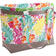 An easy and stylish way to carry pool toys, groceries, beach towels or more. It comes with four pockets, and it's big enough to fit everything you need inside.