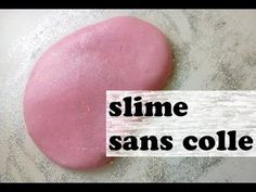 slime sans colle facile à faire - YouTube