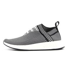 competitive price 32db7 a8149 Adidas hombres mujeres NMD City Sock CS2 Zapatos para correr  Negro blanco rayas Trainers BA7212