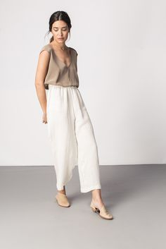 Elizabeth Suzann Florence pant in ivory