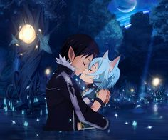 How about nooooo Sinon and kirtito aren't together and never will be his heart belongs to Asuna and they've been through way more together so no just no