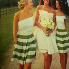 Great bridesmaid dress for summer.