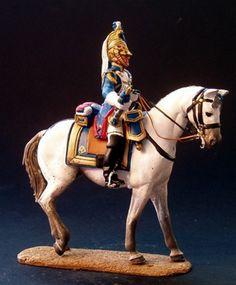 NP 077 EMPRESS DRAGOONS TRUMPETTER Acton Figure, Old Warrior, Military Figures, Napoleonic Wars, Figure Model, Toy Soldiers, American Revolution, Empire, Napoleon Josephine