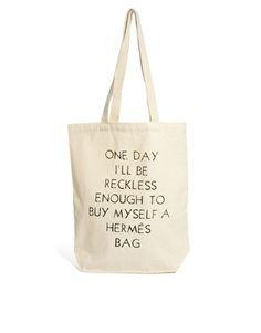 Image 1 ofTalented Totes Maude & Tilda Reckless For My Hermes Bag