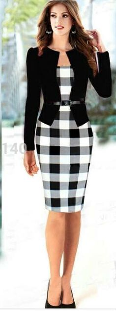 48 Ideas For Skirt Pencil Black Casual Shoes Casual Skirts, Trendy Dresses, Nice Dresses, Short Dresses, Casual Outfits, Dress Casual, Skirt Fashion, Fashion Dresses, Black Casual Shoes