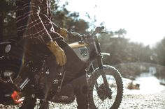 A Yamaha XT500 Built To Blast Through Swedish Forests