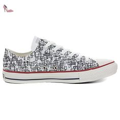 Converse Customized Adulte - chaussures coutume (produit artisanal) Autumn Forest size 35 EU 0jDds1