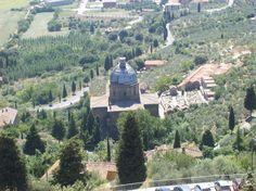 A view from Cortona (Arezzo)