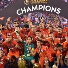 il #Cile vince la #CopaAmerica
