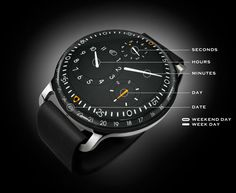 On a friday morning discover the Ressence Type 3 Schematic - A very graphic watch