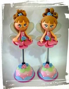 Gleucione Foam Crafts, Arts And Crafts, Clay Art, Princess Peach, Polymer Clay, Pencil, Baby Shower, Dolls, Pens And Pencils