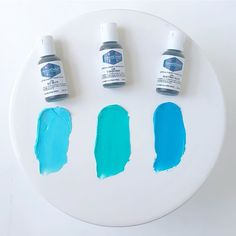 Turquoise Soft Gel Paste from Americolor Get Sky, Blue Frosting, Blue Gel, Icing Colors, Cool Science Experiments, Color Palate, Colour Board, Electric Blue, Royal Icing