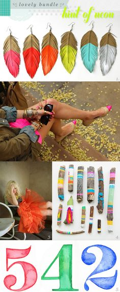 joy ever after :: details that make life loveable :: - Journal - lovely bundle {hint of neon} Pointed Flats, Out Of Style, Ever After, Tassel Necklace, Going Out, Neon, Journal, Drop Earrings, Detail