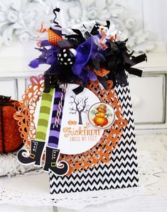 Trick Or Treat Gift Bag by Melissa Phillips for Papertrey Ink (August 2015)