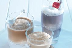 Try something different with our Coffee and Ice Cream Float recipe. Our Coffee and Ice Cream Float is a decadent beverage that is almost a dessert. Coffee Ice Cream, Vanilla Ice Cream, Kraft Recipes, Dessert Recipes, Maxwell House Coffee, Ice Cream Floats, Recipe Link, Frozen Desserts, Non Alcoholic