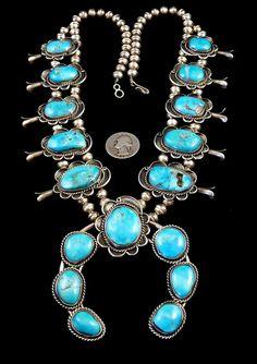 215g Vintage Navajo Sterling Silver Squash by PoohsCornerOTheWorld