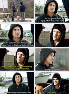 Severide: Look, Im not one to preach to anybody, but last year, after my injury, when things went south, the reason I made it through is because I went to Dawson and asked for help. Casey: The doctor was sure it was a temporary thing. The cobwebs are gonna clear up. Severide: You hear what I said? I need to know you heard what I said. I did, yeah.