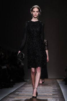 Classic Feminine Shapes for Valentino Fall 2012 by Piccioli & Chiuri