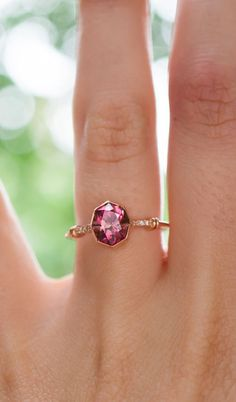 Pink Tourmaline fit for a queen.
