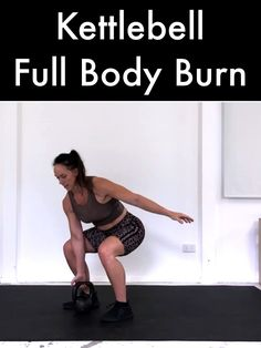Fast track your body goals with this 30 Minute Kettlebell HIIT designed to fast track your body goal Kettlebell Training, Kettlebell Workout Routines, Kettlebell Workouts For Women, Kettlebell Hiit, At Home Workouts, Kettlebell Challenge, Kettlebell Benefits, Exercise Benefits, Exercise Workouts