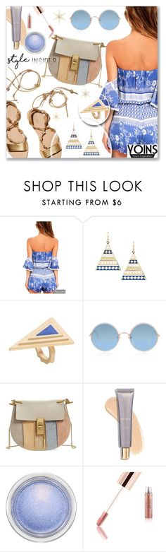 """""""Yoins.com"""" by dressedbyrose ❤ liked on Polyvore featuring Loeffler Randall, Sunday Somewhere, Chloé, MAC Cosmetics, yoins, yoinscollection and loveyoins"""