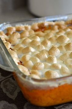 Sweet Potato Casserole for Thanksgiving