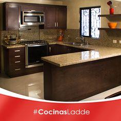 Una cocina perfecta es lo que toda mujer quiere, nosotros la diseñamos a tu medida   #CocinasLadde