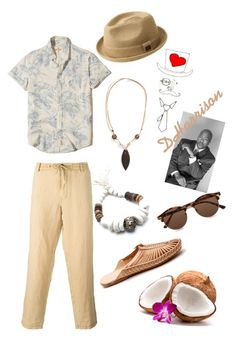 """""""Go Coco Nuts"""" by dharrisons ❤ liked on Polyvore featuring Hollister Co., Armani Jeans, Johnny Loves June, Coconuts by Matisse and Topman"""