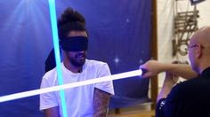 Star Wars: Is Ludosport using lightsabers the next sporting craze? Lightsaber, The Next, Bbc, Star Wars, Sports, Hs Sports, Starwars, Sport, Star Wars Art