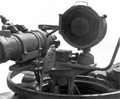 Night vision equipment used on a late variant Panther