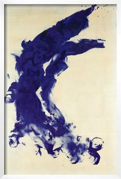 Abstract by Yves Klein