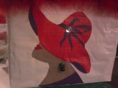 Red hat club duct tape purse