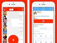 Chhirp te deja enviar un tweet con audio, con un mensaje grabado con tu voz